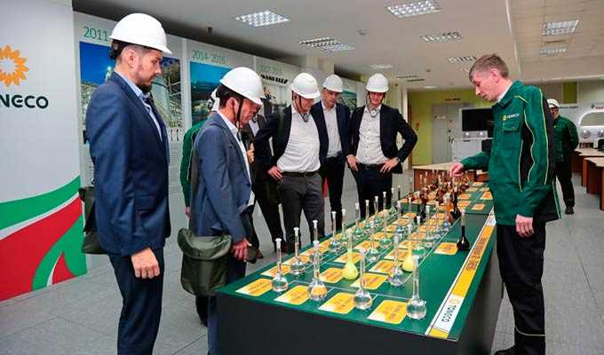 Нижнекамск посетили нефтяники из США