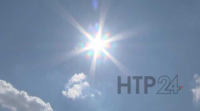 В последний день весны в Нижнекамск придет июльская жара