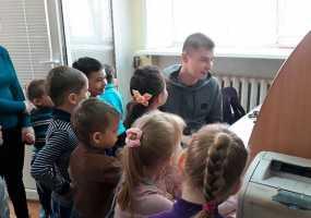 Экскурсия в НТР воспитанников детского сада №35