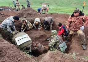 Поисковый отряд «Нефтехимик» из Нижнекамска «поднял» 28 советских солдат