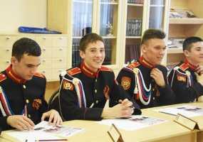 Мэр Нижнекамска Айдар Метшин рассказал кадетам о своей мечте