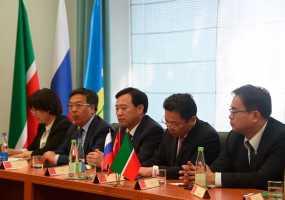 Нижнекамск посетила делегация из Китайской Народной Республики