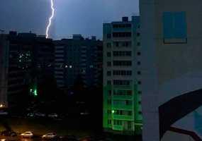 В Нижнекамске объявлено штормовое предупреждение