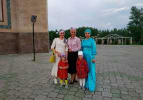 Журналисты НТР приняли участие в ифтаре в Центральной соборной мечети Нижнекамска