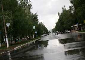 В Нижнекамске в очередной раз объявлено штормовое предупреждение