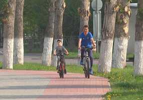 Жителей Нижнекамска призывают приехать на работу на велосипеде