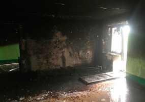 Огнеборцы из Нижнекамска спасли на пожаре двух детей