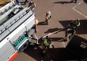В Камских Полянах при пожаре погиб местный житель