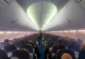 В «Бегишево» совершил экстренную посадку самолет следующий из Москвы