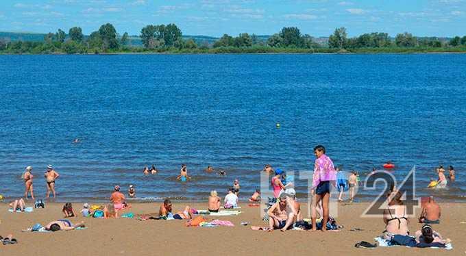 Несанкционированные пляжи Нижнекамска взяты под усиленный контроль