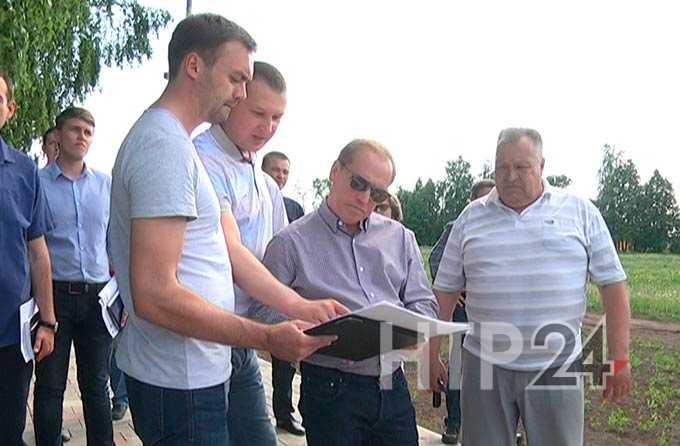 Мэр Нижнекамске провел инспекцию объектов капитального ремонта