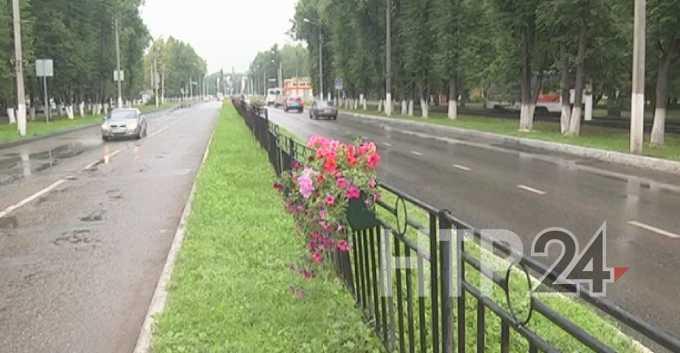 В среду днем в Нижнекамске ожидается небольшой дождь