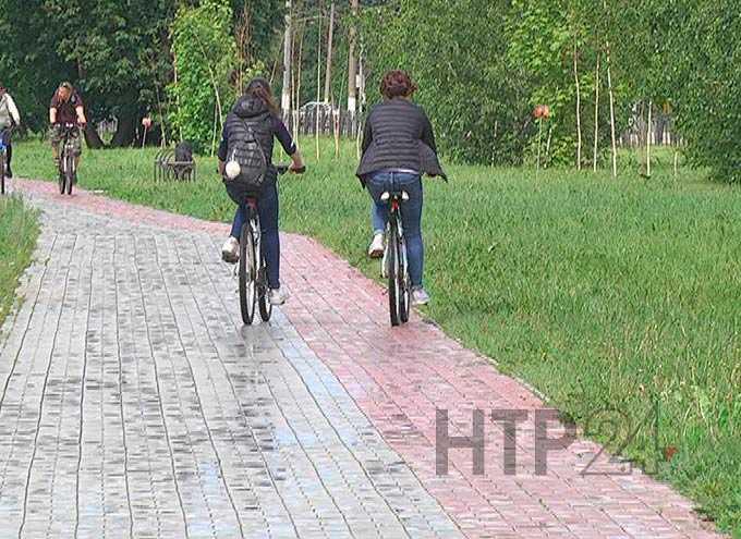 В Нижнекамске популярный веломаршрут оснастят пандусами, велопоручнями и дорожными знаками