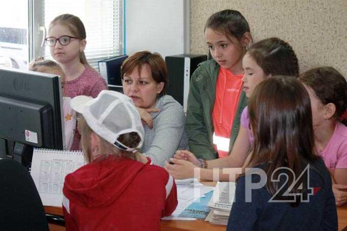 Экскурсия в НТР: пришкольный лагерь гимназии №32