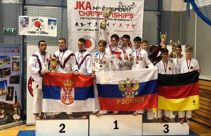 Нижнекамский боец стиля сётокан завоевал «серебро» на чемпионате Европы