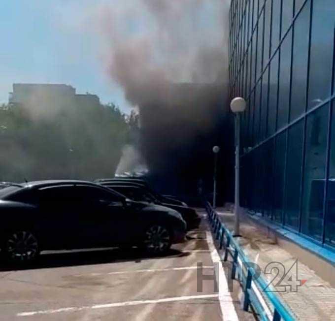 В Нижнекамске эвакуировали крупный торговый центр на улице Гагарина