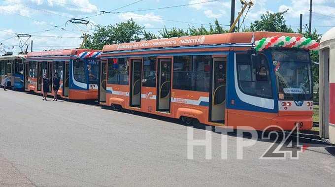 Президент Татарстана выделил Нижнекамску 5 новых трамваев