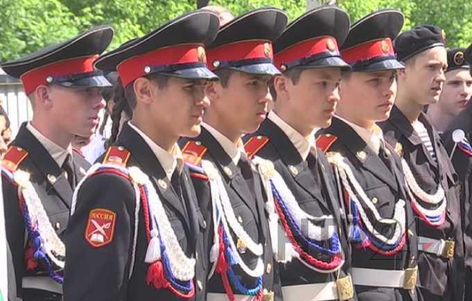 Нижнекамские кадеты отдыхают в специализированном лагере