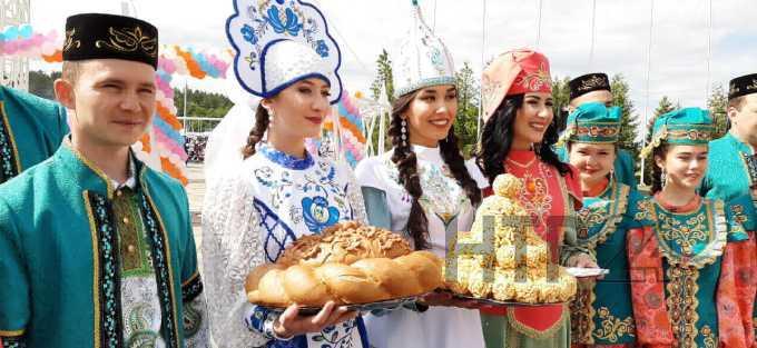 В Нижнекамске начали праздновать Сабантуй