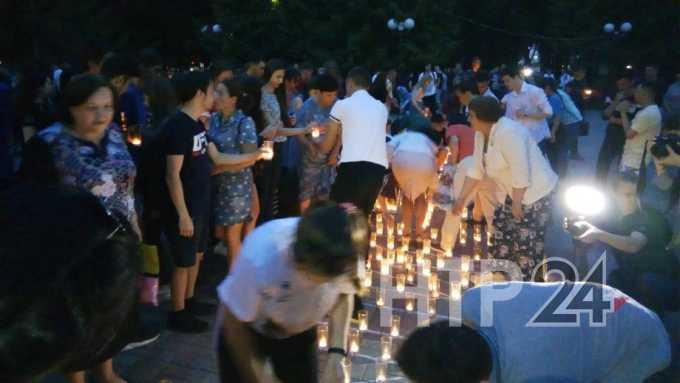 Нижнекамск присоединился к международной акции «Свеча памяти»