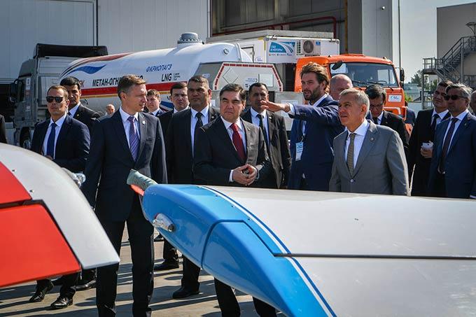 Туркменистан готов закупать в Татарстане грузовики, самолеты и корабли