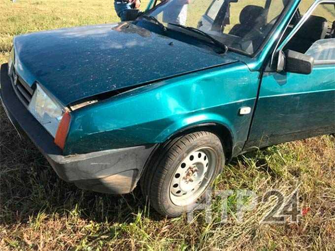 Водитель из Нижнекамска поплатилась за собственную ошибку