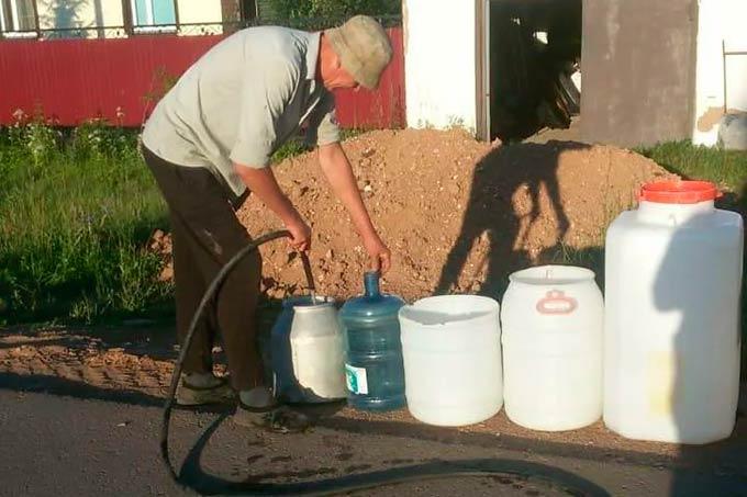 В одном из городов Татарстана объявлен режим ЧС из-за нехватки воды