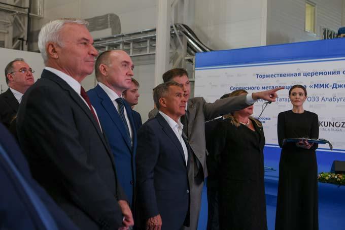 Минниханов открыл в «Алабуге» завод жидких пестицидов за 4,5 млрд рублей
