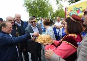 В Новосибирске стартовал федеральный Сабантуй, одним из организаторов которого выступил Нижнекамск