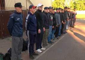 24 новобранца из Нижнекамска ушли служить в армию