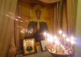 В Нижнекамск прибывают мощи святой Матроны Московской
