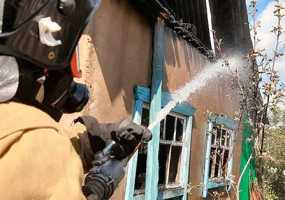 В Нижнекамске дотла сгорел дачный дом, в котором отдыхали две пенсионерки