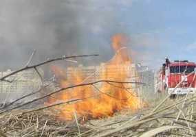 Нижнекамск лидирует среди районов Татарстана по количеству случаев возгорания сухой травы