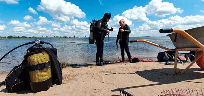 В Нижнекамске к масштабным соревнованиям заново очистили прибрежную полосу пляжа «Кама»