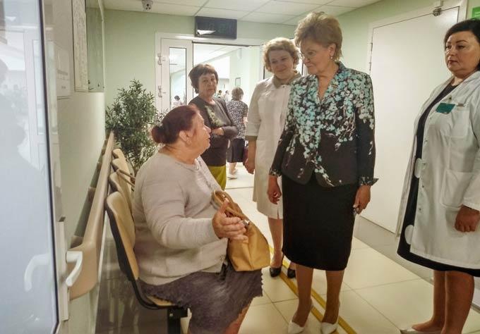 «Единая Россия» проверила, как в Татарстане создается система гериатрической медпомощи