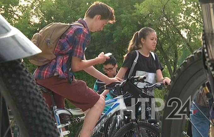 В Нижнекамске впервые прошел велоквест