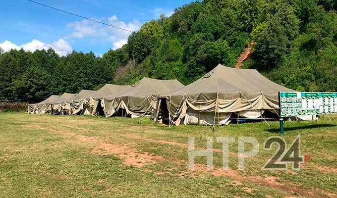 В Нижнекамске прошла проверка безопасности палаточного лагеря