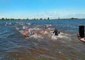 В Нижнекамске прошли соревнования по триатлону в рамках проекта TIMERMAN