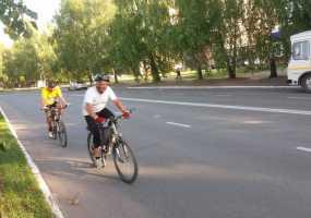 В Нижнекамск по ошибке заехали участники велопробега «Металлург-2019»