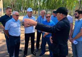 Нижнекамск с рабочим визитом посетил Курбан Бердыев