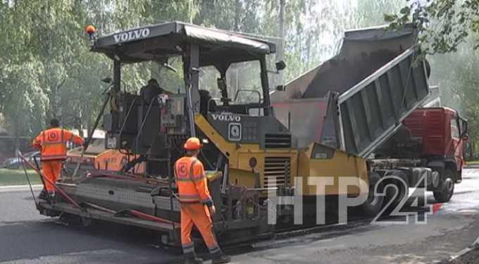 Ремонт ряда городских дорог в Нижнекамске вышел на финишную прямую