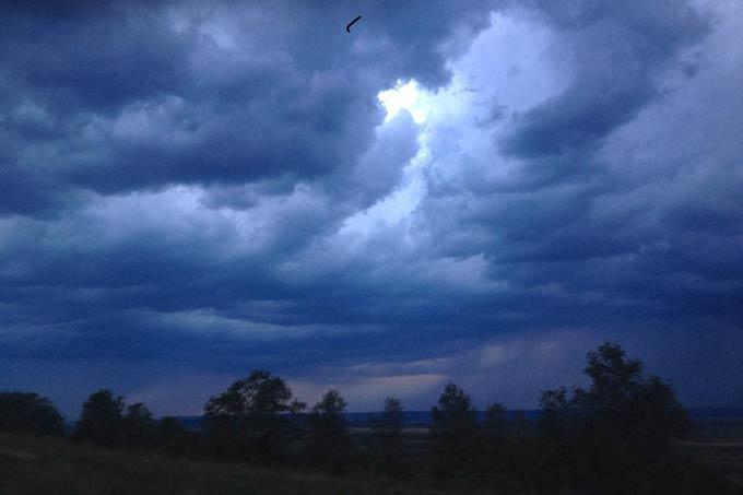 В Нижнекамске +9 градусов, дождь не прекращается