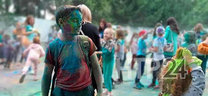 Нижнекамцы пасмурные выходные раскрасили яркими красками