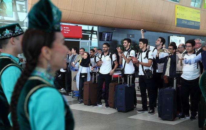 В Казань прибыла первая делегация участников WorldSkills