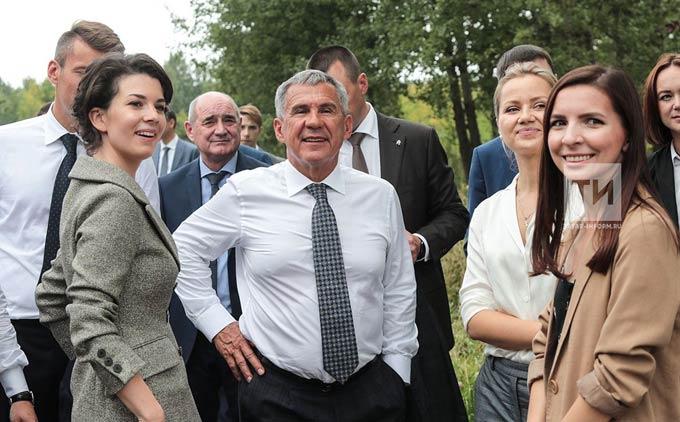 Президент РТ: Новые парки и соцобъекты станут подарком к 100-летию ТАССР для татарстанцев