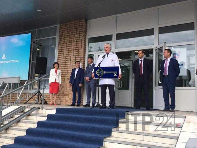 Фоторепортаж: открытие ожогового отделения в Нижнекамске