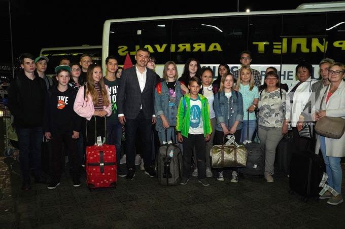 В аэропорту Казани встретили первых участников программы «Посетитель» WorldSkills