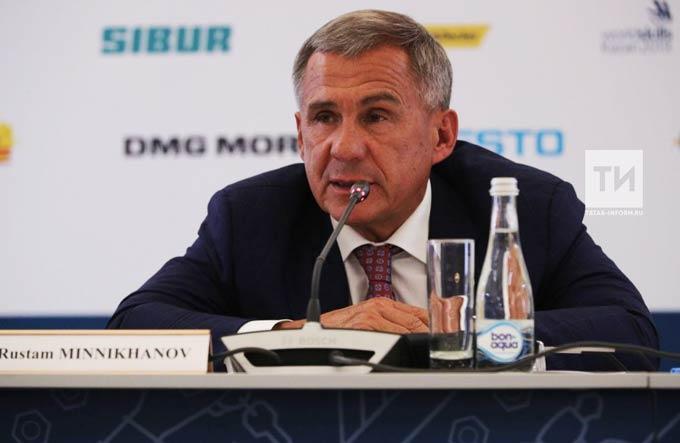 Минниханов: Движение WorldSkills оказывает плодотворное влияние на развитие рабочих профессий