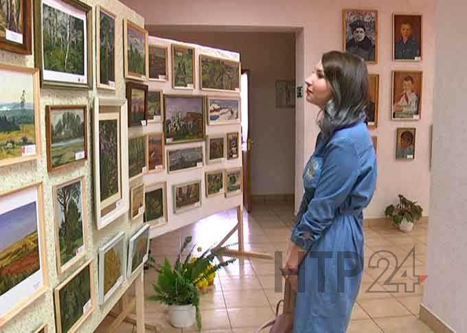 В Нижнекамском районе открылась выставка непризнанного при жизни художника