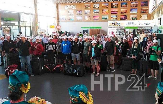 В Нижнекамск на турнир памяти Лемаева прибыли игроки «Эсмарк Старс» из США